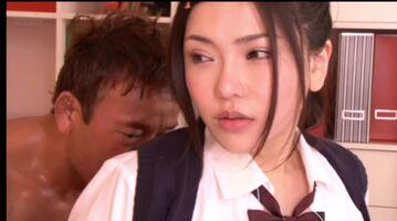 Anri Okita School Girl Tit Reveal